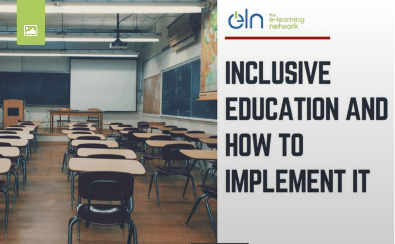INCLUSIVE EDUCATION AND HOW TO IMPLEMENT IT