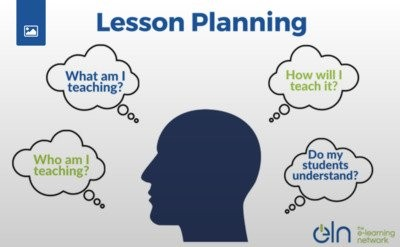 3 REASONS WHY IT IS IMPORTANT TO PLAN LESSONS