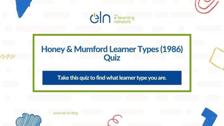HONEY & MUMFORD LEARNER TYPES (1986) QUIZ